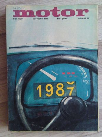 Tygodnik Motor rocznik 1987