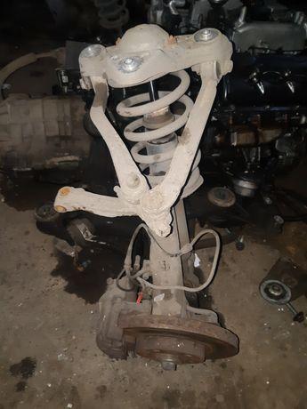 Audi a6 c5 2.5диз.стойки,опоры,подрамник,полуося,пружины,балка,патрубк
