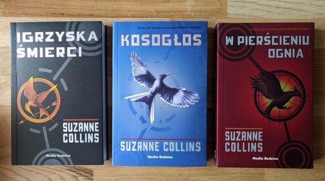 Nowa Suzanne CoIlins Igrzyska Śmierci Kosogłos W pierścieniu ognia