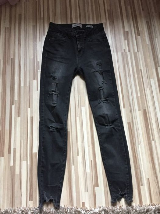 spodnie jeansowe z dziurami Mikołajewo - image 1