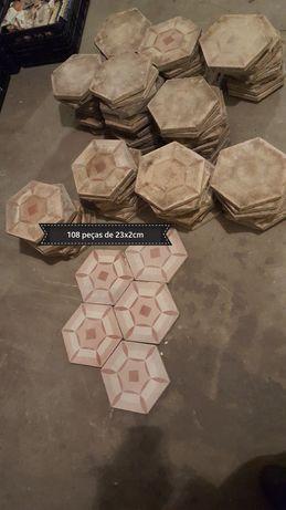 Mosaicos hidraulicos de chão anos 30
