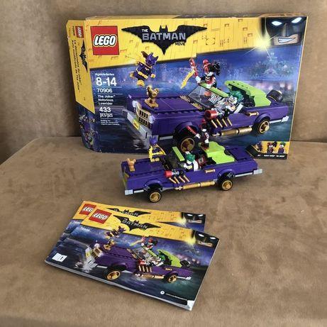 Klocki LEGO lowrider JOKER. (także wymiana SHF)