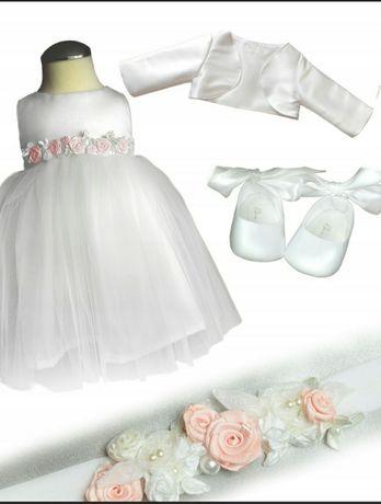 Sukieneczka do chrztu roz. 62