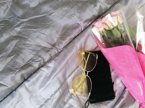 Piękne okulary przeciwsłoneczne duże