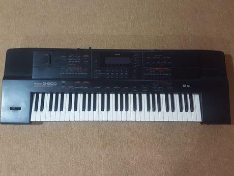 Keyboard Roland G-600 + instrukcja obsługi polska i angielska