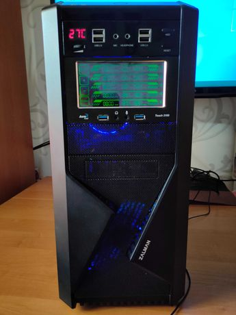 Игровой ПК Intel Xeon E5-2640V3 (8/16 3.4ГГц)/16 ГБ/RX 470 4ГБ/SSD/HDD