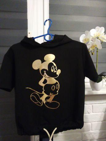Cudna koszulka z kapturem z Myszką Miki
