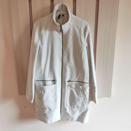 Пальто стильне манго Mango з високим коміром