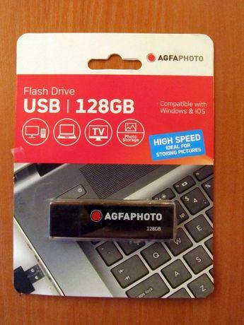 Флешка AgfaPhoto 128 Gb. Flash накопитель drive диск 128 Гб Флэшка