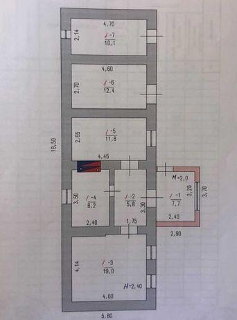 Дом на 48.9 сотках земли в с. Калаглия