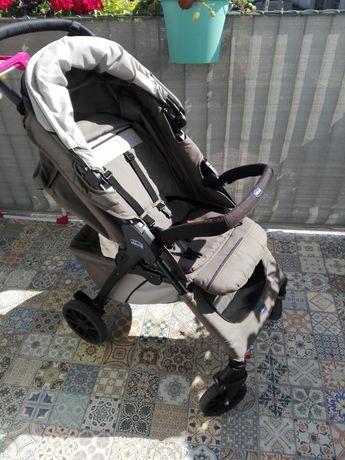 Wózek spacerowy, spacerówka Chicco Kwik One, kolor moca