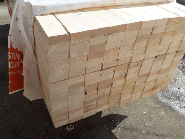 kantówka konstrukcyjna drewniana 95x45x250 sucha heblowana , belka