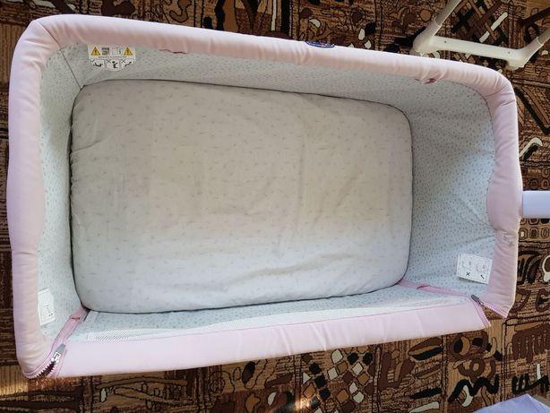 СРОЧНО Приставная детская кроватка CHICCO NEXT 2 ME