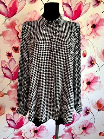 dorothy perkins koszula jak nowa modny wzór pepitka hit roz.42