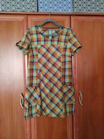 Letnia sukienka z kieszonkami