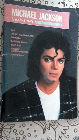 Zeszyt nutowy - utwory Michael Jackson