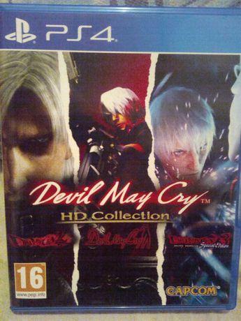 диск на пс 4 Devil May Cry