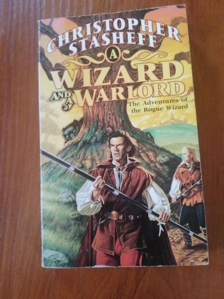 Книга на английском Wizard and a Warlord фентези English
