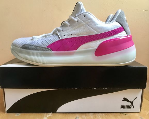 Мужские баскетбольные кроссовки Puma Clyde Hardwood ,не Jordan ,Nike