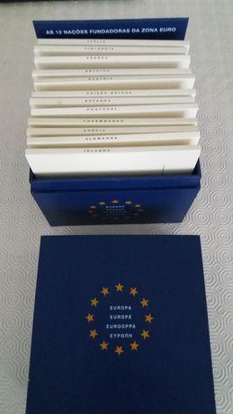Coleção de Moedas das 12 nações fundadoras do euro