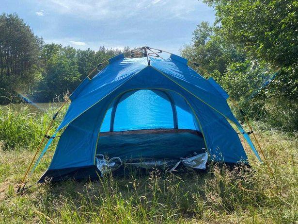 Палатка с автоматическим каркасом - Новая Автомат двухслойная