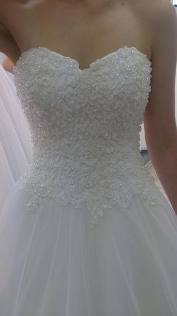 suknia ślubna rozmiar 36-40