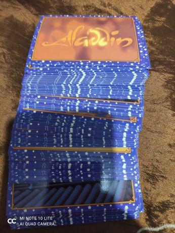 Коллекция картонных карточек Aladdin panini