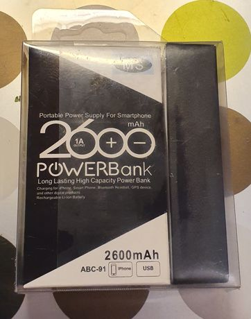 Powerbank 2600mAh Nowy