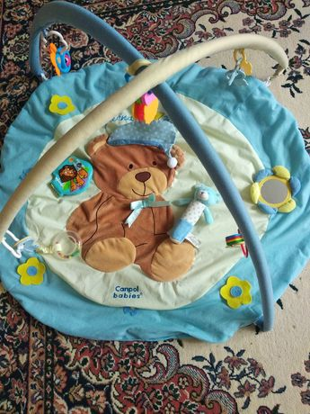 Продам розвиваючий клірик килимок canpol bebies