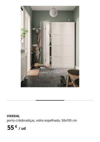 Porta em espelho Ikea Pax