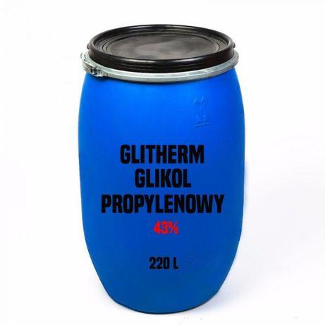 Glikol propylenowy nietoksyczny 43 % (Glitherm - 25 °C), beczka 220 l