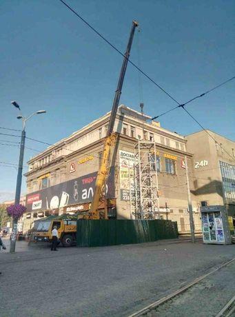 Услуги Автокран XCMGQY25K5 в г.Днепре-стрела 46,8м,г/п25тн-1200р/1ч