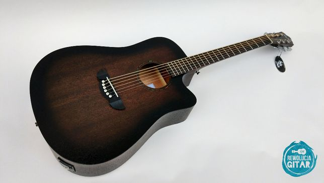 Gitara Elektro-akustyczna z wbudowanym Stroikiem WYGODNA
