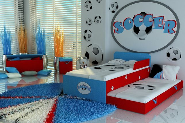 Świetne łóżko dla dzieci,dziecięce,materac 10 cm DOSTAWA GRATIS