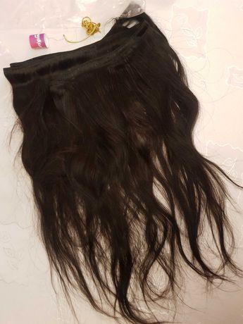 Taśma włosy 100% naturalne 200 cm. Dl. 55cm.