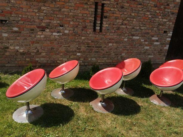 Fotele krzesła okrągłe