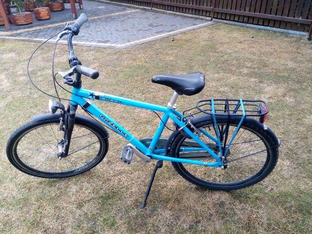 Rower miejski - Rama Aluminiowa - Gazella - Koła 26 cali