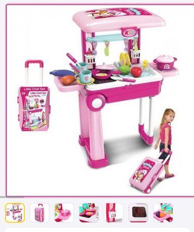Игровой набор Детская кухня Little Chef Set в чемодане   Детская кухня
