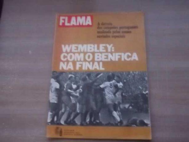 BENFICA - MANCHESTER  FINAL DA TAÇA CAMPEÕES EUROPEUS 1968 Flama