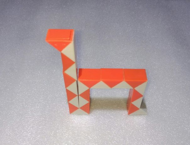 Змейка развивающий конструктор ребус