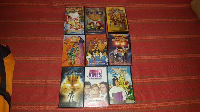 Kasety - Magnetowid - Filmy na VHS