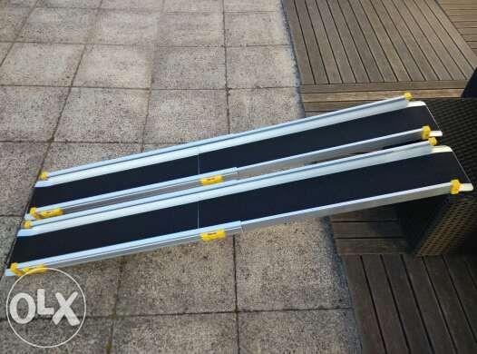 Rampas (par) mobilidade telescópicas alumínio vários modelos