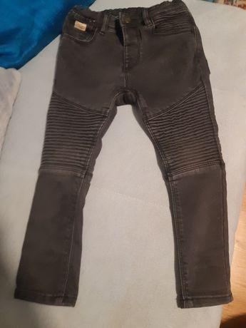 Zara spodnie rurki mega modne t.104