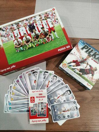 Sprzedam puzzle i gry piłkarskie