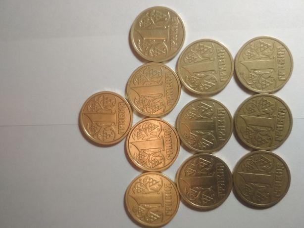 продам монеты 1гр.1995-1996г.