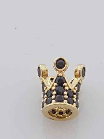Złoty element charms na bransoletkę Pandora, Próba 585.Nowy (171)