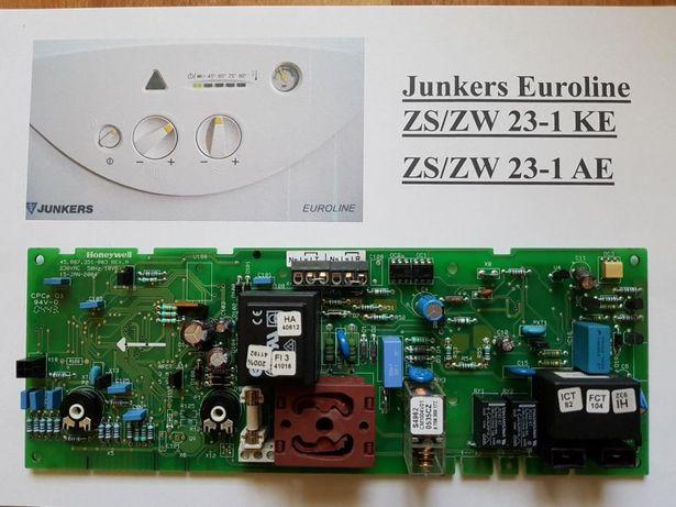 Płyta główna, sterownik Junkers Euroline ZS/ZW 23-1 KE, ZS/ZW 23-1 AE