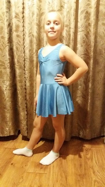 Платье для бальных танцев . Бейсик .