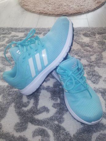 Buty adidas błękitne damskie