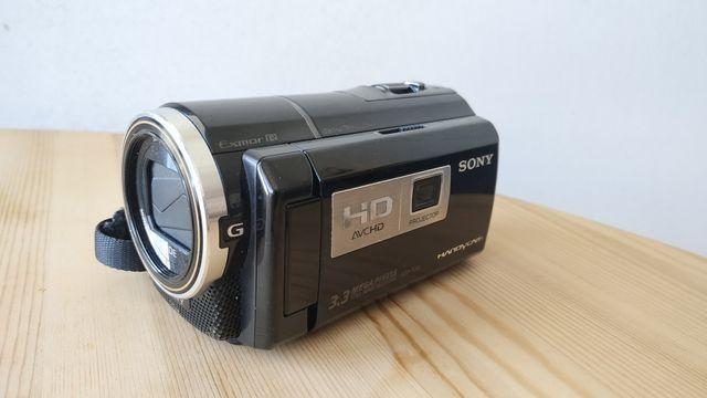 Kamera Sony HDR-PJ10 z projektorem + Torba